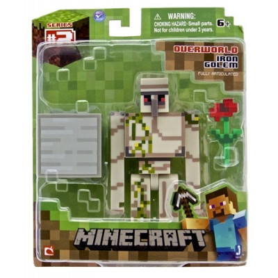 """Набор фигурок Minecraft: Игровой мир """"Iron Golem"""""""