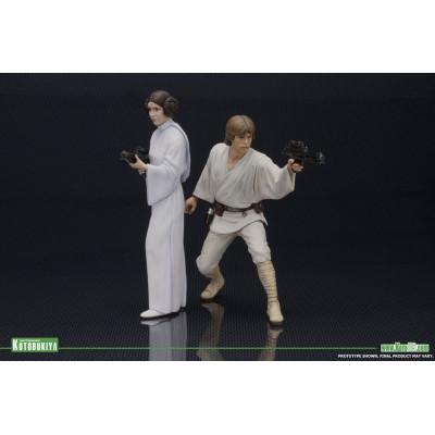 Набор фигурок Star Wars: Luke Skywalker and Princess Leia (16 см)
