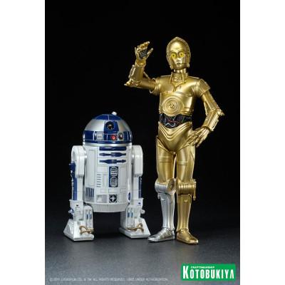 Набор фигурок Star Wars: R2-D2 и C-3PO (17 см)