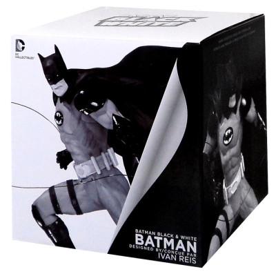 Фигурка Batman: Black & White Statue By Ivan Reis (17 см)