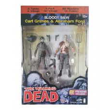 Набор фигурок Walking Dead: Carl/Abraham (2шт, 17 см)