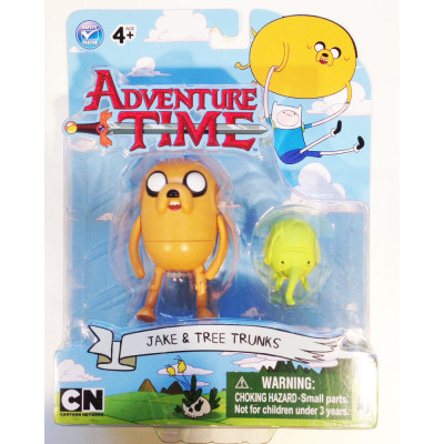 Набор фигурок Jazwares Adventure Time: Jake with Treetrunks 2 в 1 (6 см)