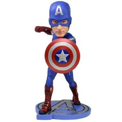 Фигурка NECA Головотряс Avengers: Age of Ultron - Captain America (17 см)