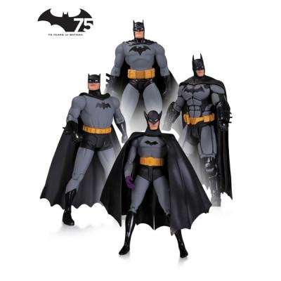 Набор фигурок Batman: 75th Anniversary 1 (4 шт, 17 см)