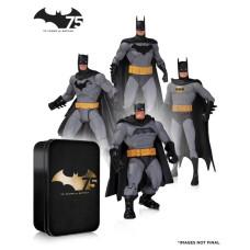 Набор фигурок Batman: 75th Anniversary 2 (4 шт, 17 см)