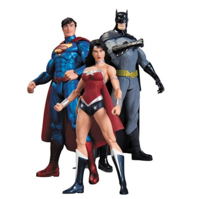 Набор фигурок DC Comics - Batman, Wonder Woman, Superman (3 шт, 17 см)