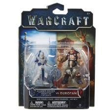 Набор фигурок Warcraft - Дуротан и Солдат Альянса (7 см)