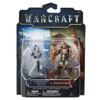 Набор фигурок Warcraft - Дуротан и Солдат Альянса (2 шт., 7 см)