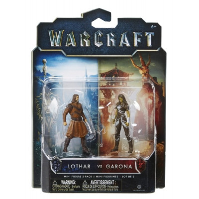 Набор фигурок Warcraft - Гарона и Лотар (2 шт., 7 см)