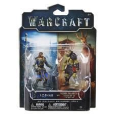 Набор фигурок Warcraft - Лотар и Воин Орды (7 см)