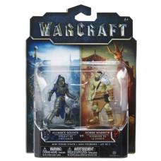 Набор фигурок Warcraft - Воин Орды и Солдат Альянса (7 см)