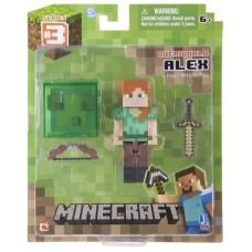 "Набор фигурок Minecraft: Игровой мир ""Alex With Sword And Bow"" (8 см)"