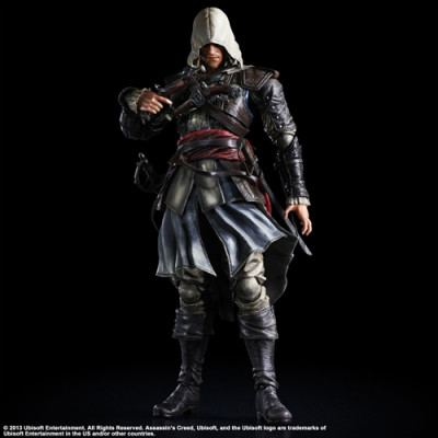 Фигурка Assassin's Creed IV: Black Flag - Play Arts Kai - Edward (27 см)