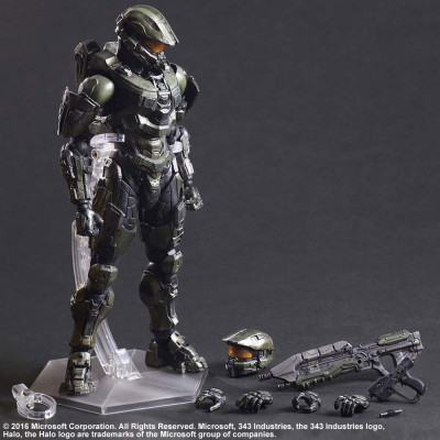Фигурка Halo 5: Guardians - Play Arts Kai - Master Chief (27 см)