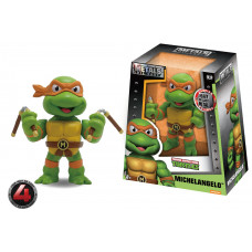 Фигурка Teenage Mutant Ninja Turtles - Metalfigs - Michaelangelo (10 см)
