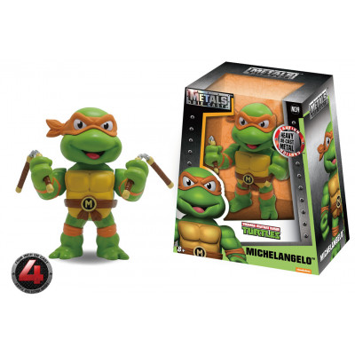 Фигурка Teenage Mutant Ninja Turtles - Metalfigs - Michaelangelo (10 см)