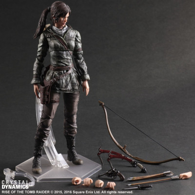 Фигурка Rise of The Tomb Raider - Play Arts Kai - Lara Croft (27 см)