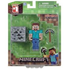 "Набор фигурок Minecraft: Игровой мир ""Steve with Accessory"" (6 см)"