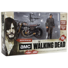 Набор фигурок The Walking Dead: TV Deluxe - Daryl Dixon with New Bike (25 см)