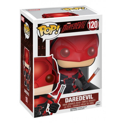 Головотряс Daredevil - POP! Marvel - Daredevil: Red Suit (9.5 см)