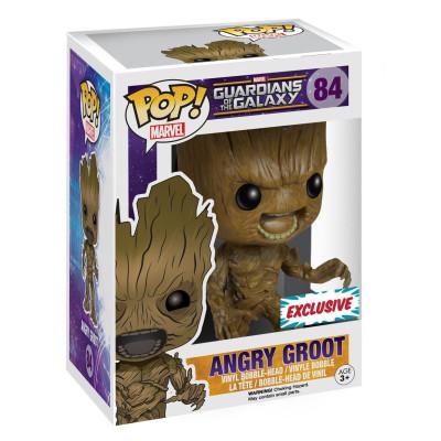 Головотряс Guardians of The Galaxy - POP! Marvel - Angry Groot (9.5 см, эксклюзив)