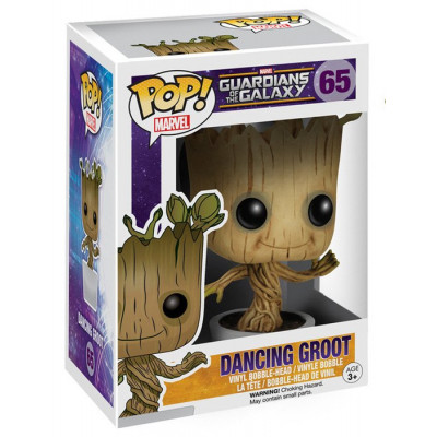 Головотряс Guardians of The Galaxy - POP! Marvel - Dancing Groot (9.5 см)