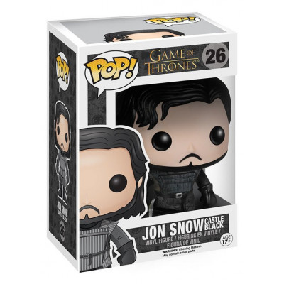 Фигурка Game of Thrones - POP! TV - Jon Snow Castle Black (9.5 см)