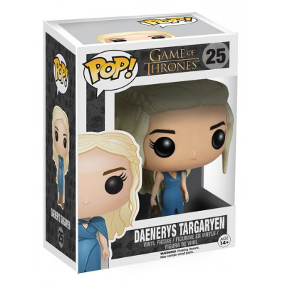 Фигурка Game of Thrones - POP! TV - Daenerys Targaryen (Blue Dress) (9.5 см)