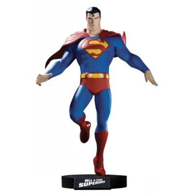 Статуэтка Superman DVD - DC Direct All-Star - Superman Maquette (29 см)