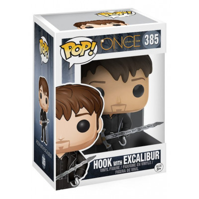 Фигурка Once Upon A Time - POP! TV - Hook with Excalibur (9.5 см)