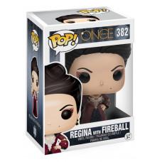 Фигурка Once Upon A Time - POP! TV - Regina w/ Fireball (9.5 см)