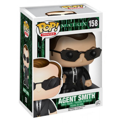 Фигурка The Matrix - POP! Movies - Agent Smith (9.5 см)