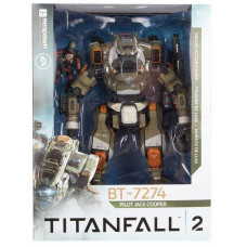 Набор фигурок Titanfall 2: BT-7274 Titan + Pilot Jack Cooper (25 см, 8 см)