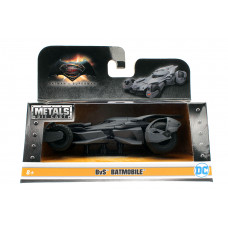 Фигурка Batman v Superman: Dawn of Justice - Metalfigs - Batmobile 2016 (5 см)