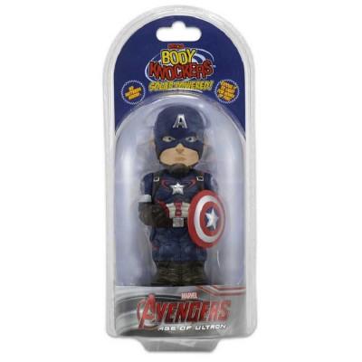 Фигурка NECA Телотряс Avengers: Age Of Ultron - Captain America (на солнечной батарее) (15 см)
