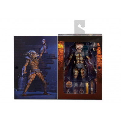 Фигурка Predator 2 - Action Figure Ultimate - City Hunter (17 см)