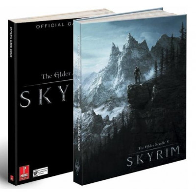 The Elder Scrolls V: Skyrim: Prima Official Game Guide [Hardcover,Paperback]