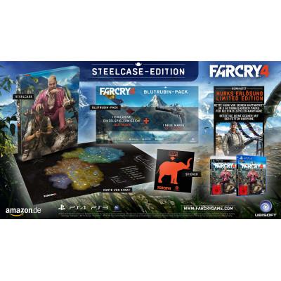 Игра Ubisoft Far Cry 4. Steelcase Edition [PS4, PS3, европейская версия]