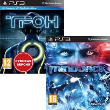 Комплект из 2-х игр PS3: ТРОН: Эволюция [PS3, Русская версия] + MINDJACK [PS3, английская версия]
