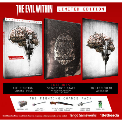 The Evil Within. Limited Edition [Xbox One, русские субтитры]