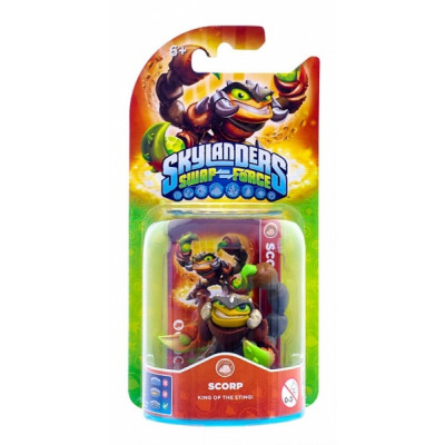 Интерактивная фигурка Skylanders: Swap Force - Scorp [PS4, Xbox One, PS3, Xbox 360, 3DS, Wii, Wii U]