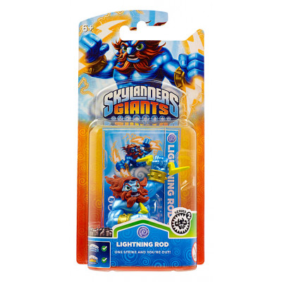 Интерактивная фигурка Skylanders: Giants - Lightening Rod [PS3, Xbox 360, 3DS, Wii, Wii U]