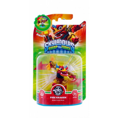 Интерактивная фигурка Skylanders: Swap Force - Fire Kraken (трансформер) [PS4, Xbox One, PS3, Xbox 360, 3DS, Wii, Wii U]