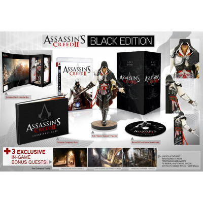 Assassin's Creed II. Black Edition [PC,PS3,XBOX360, английская версия]