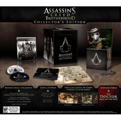 Assassin's Creed: Братство крови. Collector's Edition [PS3,XBOX360, американская версия]
