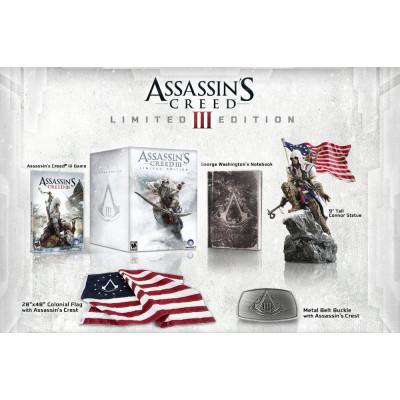 Assassin's Creed III. Limited Edition [PC,PS3,XBOX360, американская версия]