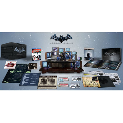 Batman: Arkham Origins. Collector's Edition [PS3,XBOX360, американская версия]