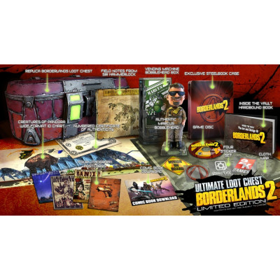 Borderlands 2. Ultimate Loot Chest Limited Edition [PS3,XBOX360,PC]