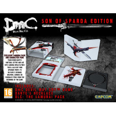 DmC: Devil May Cry. Son of Sparda Edition [PS3,XBOX360, европейская версия]