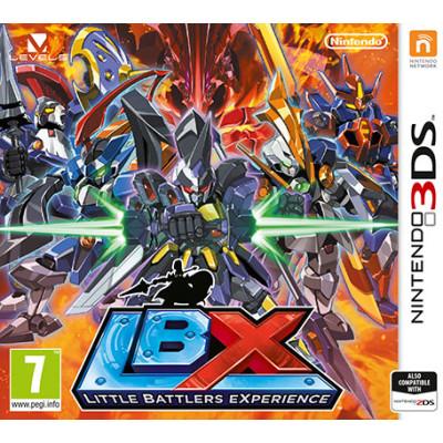 Little Battlers Experience [3DS, английская версия]